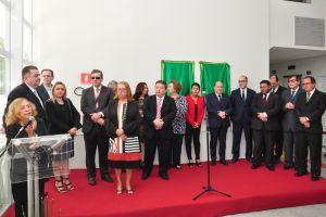 A presidente do TRT/CE, desembargadora Maria José Girão, lembrou a importância histórica do edifício