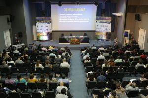 O congresso ocorreu no auditório da Escola Superior da Magistratura do Estado de Alagoas