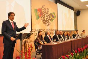 Ministro Luiz Philippe Vieira de Mello Filho destacou a importância do Direito do Trabalho