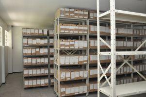 Uma sala foi reformada para abrigar o arquivo processual da Vara