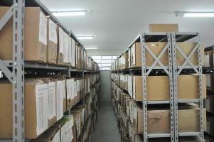 Novo arquivo. Antes as caixas com processos ficavam acumuladas no ambiente da Primeira Vara