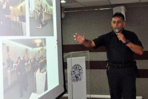 O diretor da Divisão de Segurança e Transporte do TRT/CE, Klayton Coelho de Souza