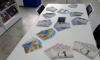 A Justiça do Trabalho do Ceará fez doação à biblioteca da Escola de livretos, cartilhas, folders que tratam sobre combate ao Trabalho Infantil e Aprendizagem