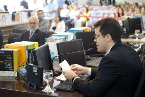 O juiz do trabalho André Barreto coordena o Cejusc no primeiro grau da Justiça do Trabalho cearense