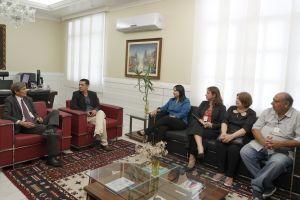 O encontro aconteceu no gabinete da Presidência do TRT/CE