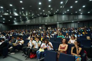 Cerca de 180 alunos de escolas estaduais e municipais participaram do encontro