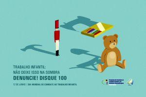A campanha do dia 12 de junho foi criada a partir de concurso entre os estagiários da Justiça do Trabalho do Ceará