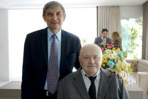 O presidente do TRT/CE, des. Plauto Porto (esq.), deu posse ao des. Judicael Sudário