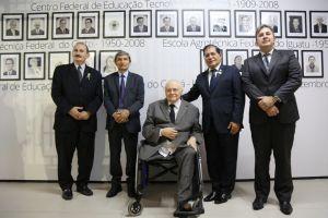 Também compareceram à cerimônia os desembargadores Francisco José Gomes, Plauto Porto (presidente do TRT/CE) e Paulo Régis Botelho