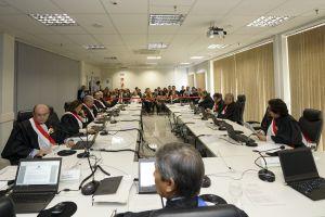 Sessão solene especial de ratificação de posse do desembargador Judicael Sudário de Pinho