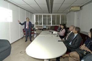 Comitiva do TRT/CE também assistiu a uma apresentação