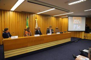 Ministro Lelio Corrêa apresentou também um balanço de sua gestão no biênio 2018-2020 como corregedor-geral