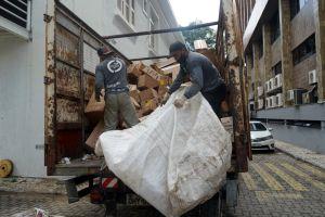 Em 2019, entidades de coleta de material reciclável foram beneficiadas com mais de 14 toneladas de itens doados pelo TRT/CE