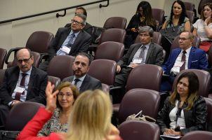No evento, houve palestras e outras atividades voltadas para a discussão e aperfeiçoamento das ouvidorias do Judiciário Trabalhista